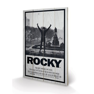 Art Group Rocky, Rocky I Vintage Advertisement Plaque