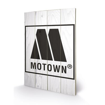 Art Group Motown Logo Graphic Art Plaque