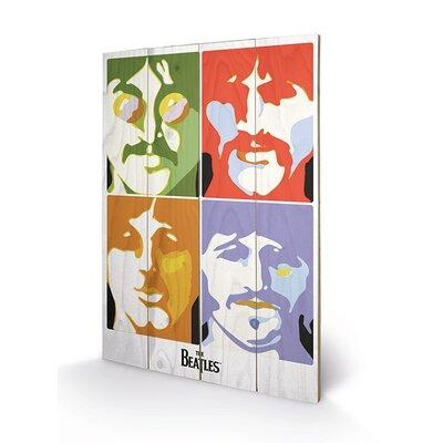 Art Group The Beatles Sea of Science Vintage Advertisement Plaque