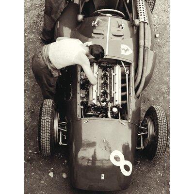 Art Group Ferrari Mechanic, French GP, 1954 by Jesse Alexander Canvas Wall Art