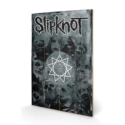 Art Group Slipknot Pentagram Graphic Art Plaque