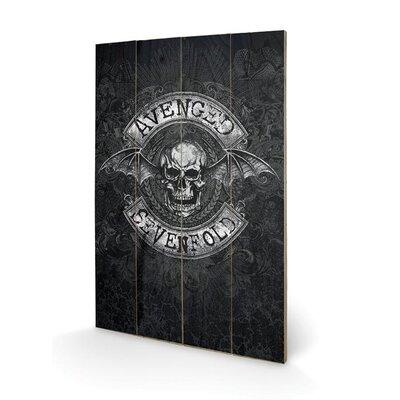Art Group Avenged Sevenfold, Death Bat Graphic Art Plaque