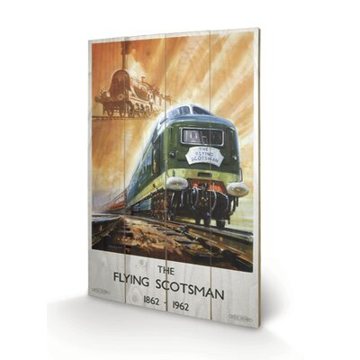 Art Group The Flying Scotsman Vintage Advertisement Plaque