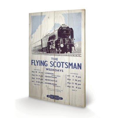 Art Group The Flying Scotsman Vintage Advertisement Plaque