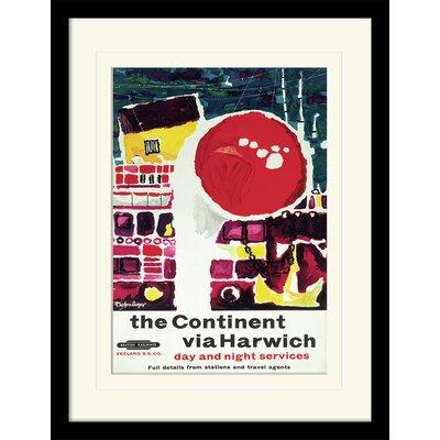 """Art Group Harwich """"3"""" Framed Vintage Advertisement"""