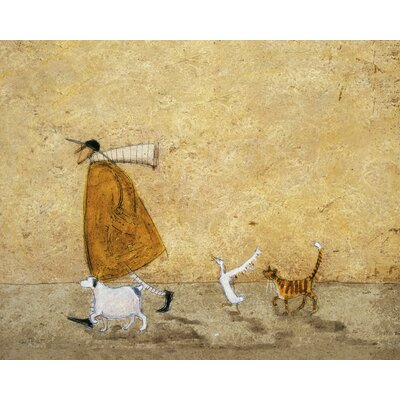 Art Group Ernest, Doris Horace and Stripes by Sam Toft Canvas Wall Art