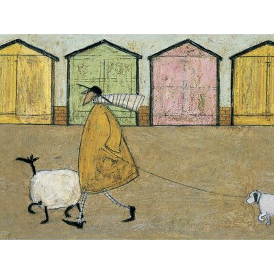 Art Group Along the Prom by Sam Toft Canvas Wall Art