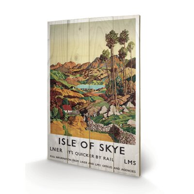 Art Group Isle of Skye #2 Vintage Advertisement Plaque