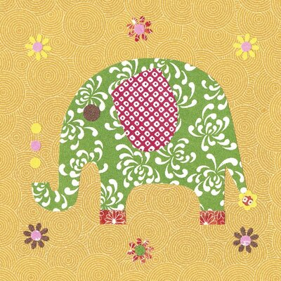 Art Group Elephant by Rachel Taylor Canvas Wall Art