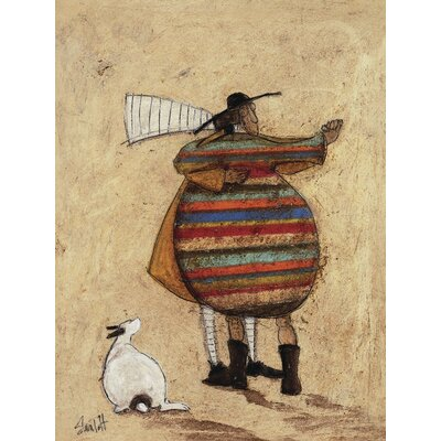 Art Group Dancing Cheek to Cheeky by Sam Toft Canvas Wall Art