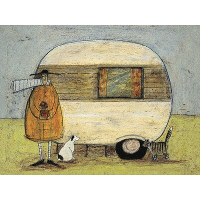 Art Group Home from Home by Sam Toft Canvas Wall Art