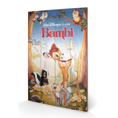 Art Group Bambi Vintage Advertisement Plaque