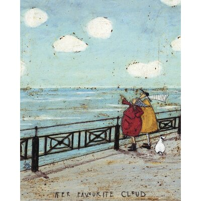 Art Group Her Favourite Cloud by Sam Toft Canvas Wall Art
