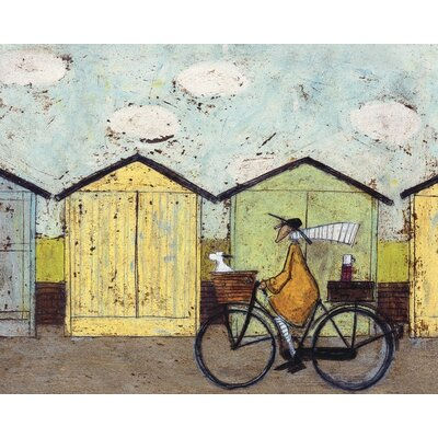Art Group Off for A Breakfast by Sam Toft Canvas Wall Art