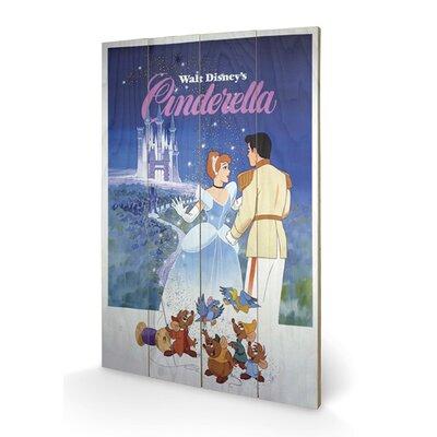 Art Group Cinderella Small Vintage Advertisement Plaque