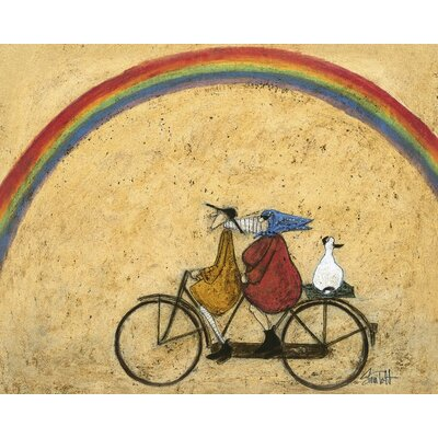 Art Group Somewhere Under a Rainbow by Sam Toft Canvas Wall Art