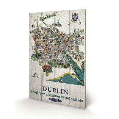 Art Group Dublin #1 Vintage Advertisement Plaque