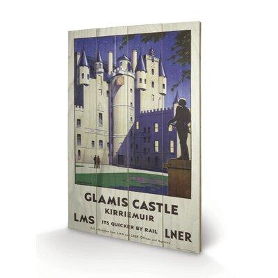 Art Group Glamis Castle Vintage Advertisement Plaque