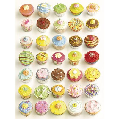 Art Group Cup Cakes by Howard Shooter Canvas Wall Art