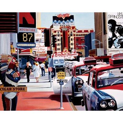 Art Group Reno Cigar Store by Alain Bertrand Canvas Wall Art