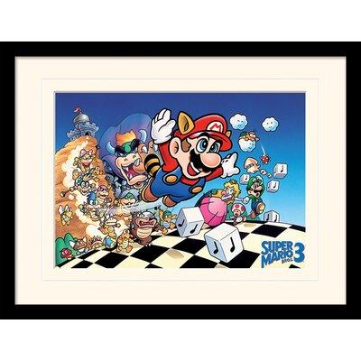 Art Group Super Mario Bros. 3 Framed Vintage Advertisement