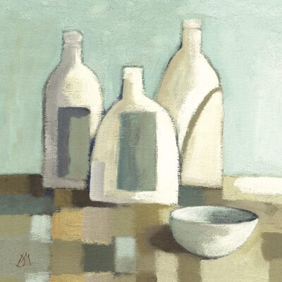 Art Group Still Life with Bottles II by Derek Melville Canvas Wall Art