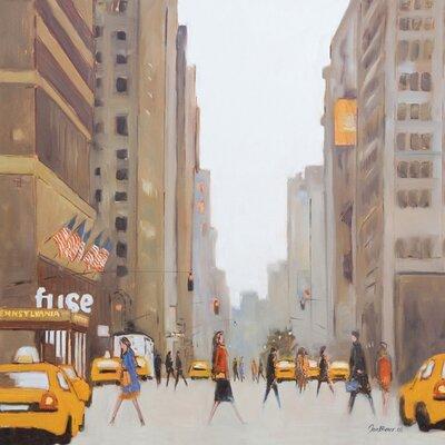 Art Group 7th Avenue - New York by Jon Barker Canvas Wall Art