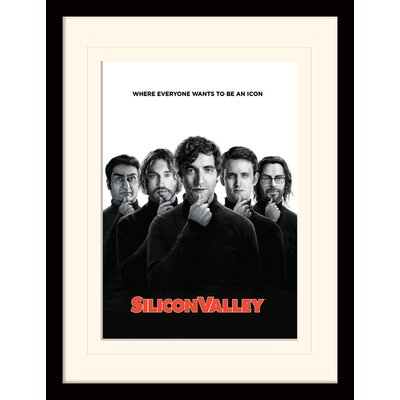 Art Group Silicon Valley Icon Framed Vintage Advertisement