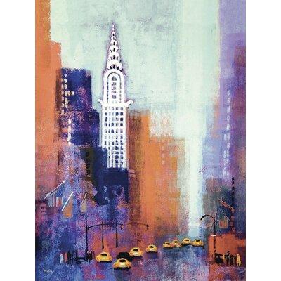 Art Group Manhattan Chrysler Building by Colin Ruffell Canvas Wall Art