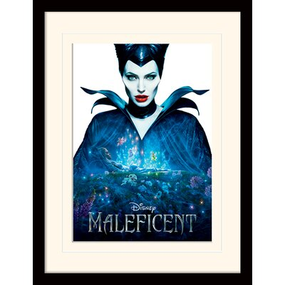 Art Group Maleficent One Sheet Mounted Framed Vintage Advertisement
