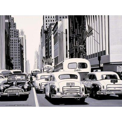 Art Group Heavy Traffic by Alain Bertrand Canvas Wall Art