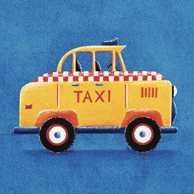 Art Group Taxi by Simon Hart Canvas Wall Art