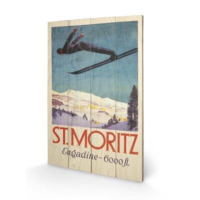 Art Group St. Moritz Graphic Art Plaque