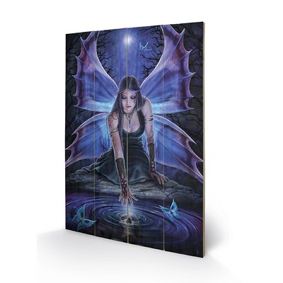 Art Group Mystic Aura by Anne Stokes Graphic Art Plaque