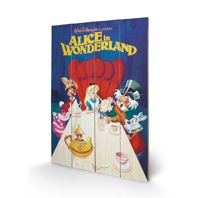 Art Group Alice in Wonderland 1989 Vintage Advertisement Plaque