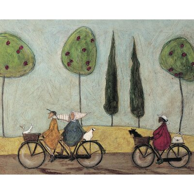 Art Group A Nice Day for It by Sam Toft Canvas Wall Art