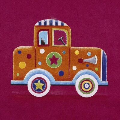 Art Group Clown Car by Simon Hart Art Print on Canvas