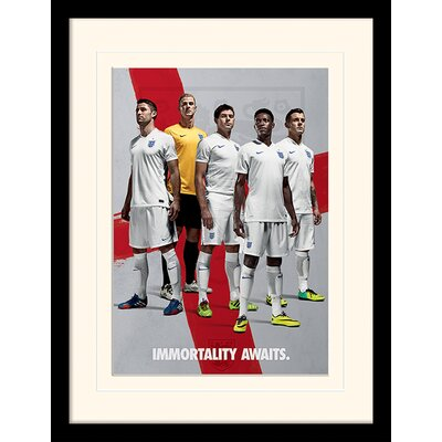 Art Group England Immortality Awaits Framed Graphic Art