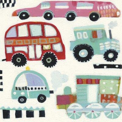 Art Group Traffic Jam by Anne Davies Canvas Wall Art