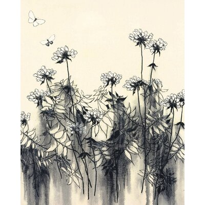 Art Group White Flowers by Hans Andkjaer Canvas Wall Art