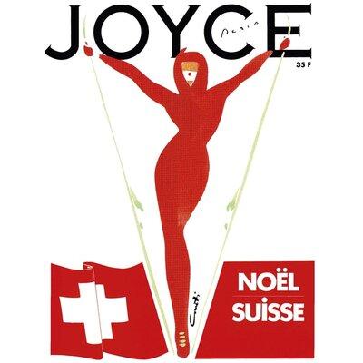 Art Group Joyce, Noël, Paris by Michel Canetti Canvas Wall Art
