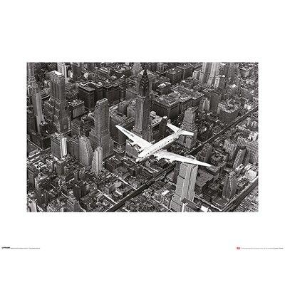 Art Group Time Life - DC4 Over Manhattan Photographic Print