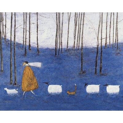 Art Group Tiptoe Through the Bluebells by Sam Toft Canvas Wall Art