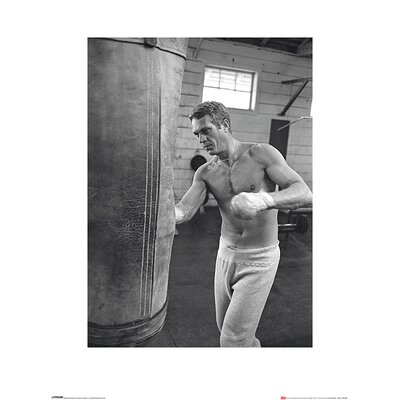 Art Group Time Life - Steve McQueen Boxing Photographic Print