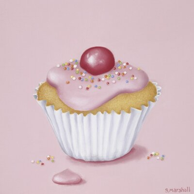 Art Group Can I Have A Fairy Cake by Sheila Marshall Canvas Wall Art
