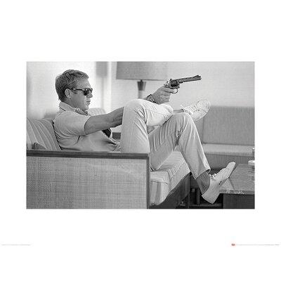 Art Group Time Life - Steve McQueen Take Aim Photographic Print