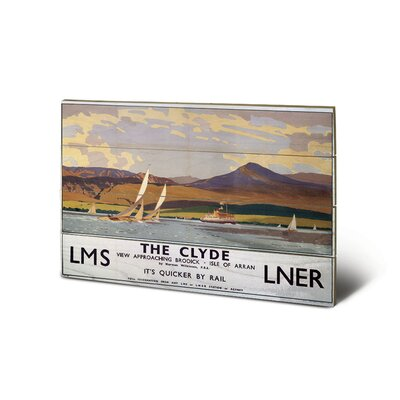 Art Group The Clyde Vintage Advertisement Plaque