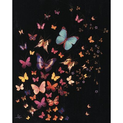 Art Group Midnight Butterflies by Lily Greenwood Canvas Wall Art