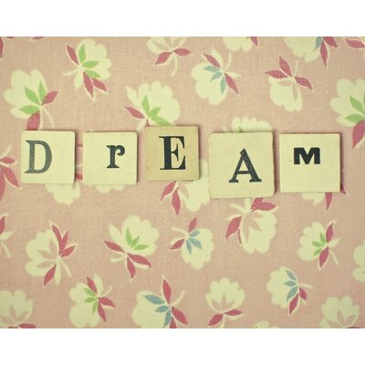 Art Group Dream by Cassia Beck Typography Canvas Wall Art