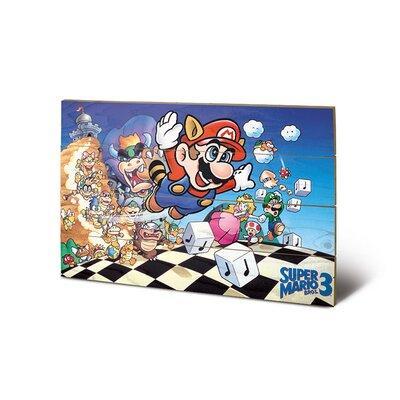 Art Group Super Mario Bros. 3 Vintage Advertisement Plaque